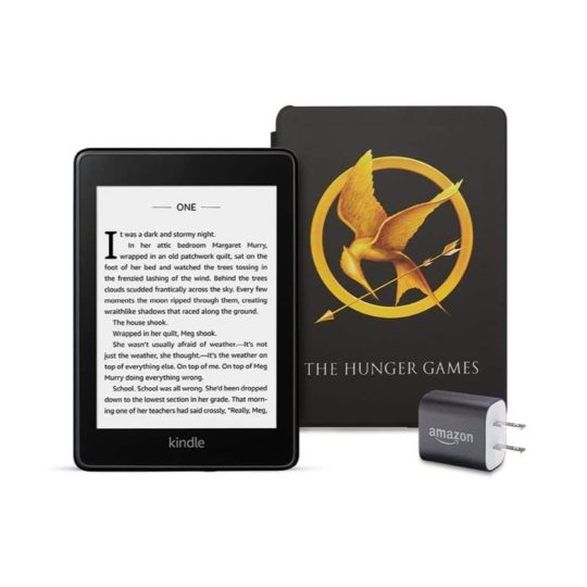 The Hunger Games Kindle Paperwhite gift pack