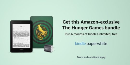 The Hunger Games Prequel exclusive Amazon Kindle bundle