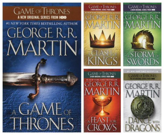 A Game of Thrones complete single-ebook collection