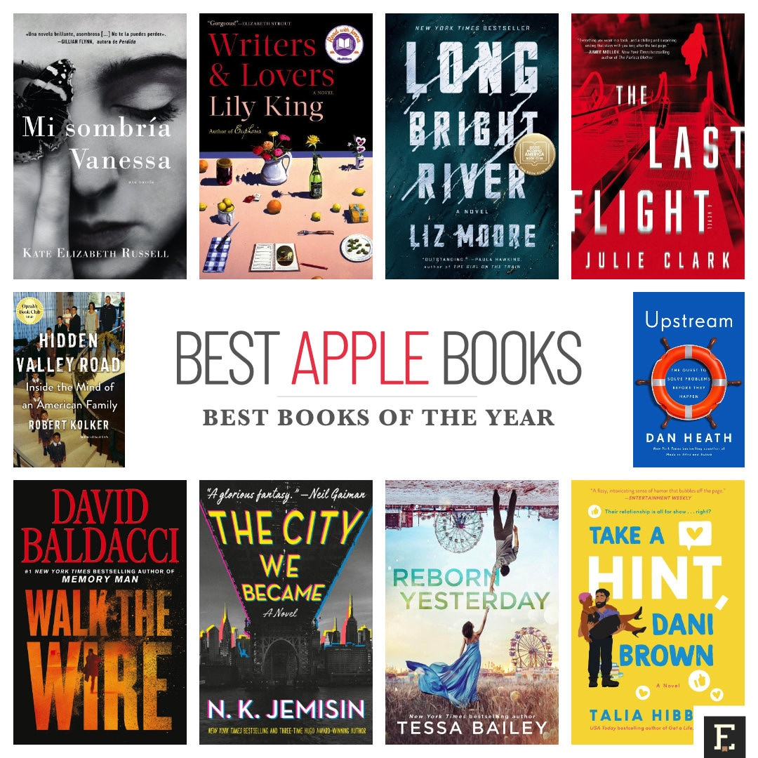 Apple best books of the year for iPad and iPhone