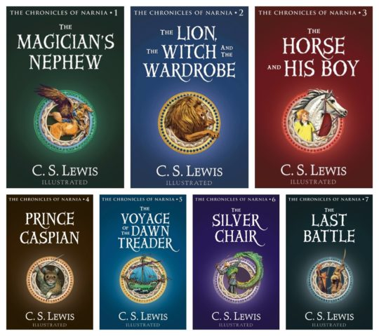 Chronicles of Narnia Complete Ebook Collection by C.S. Lewis