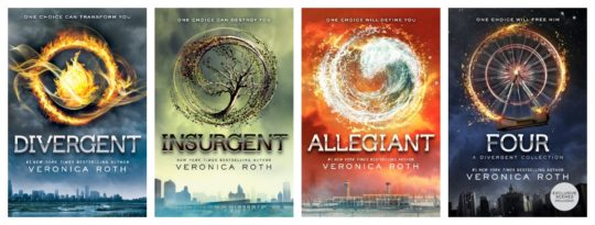 Divergent series complete ebook collection