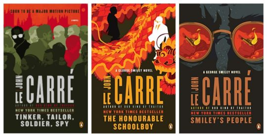 George Smiley spy series ebook collection by John le Carre