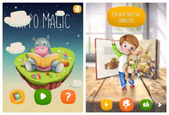 Hippo Magic - best iPad childrens book apps