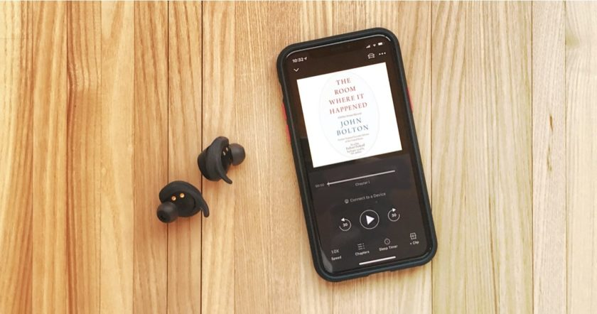 John Bolton free audiobook Audible trial