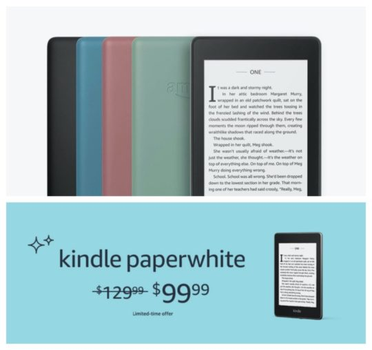 Kindle Paperwhite sale summer 2020