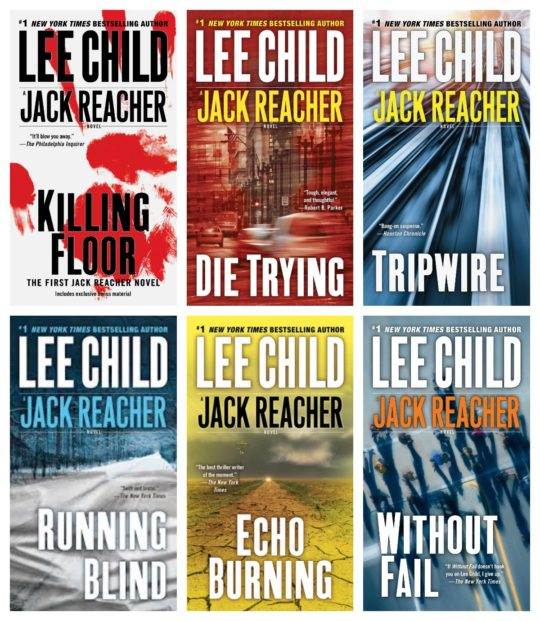 Lee Child Jack Reacher 6-Ebook Bundle