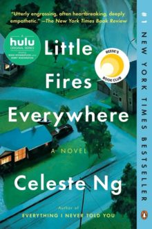 Little Fires Everywhere Celeste Ng - top Amazon bestselling books of the year 2020