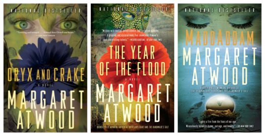 MaddAddam Trilogy Oryx and Crake ebook bundle by Margaret Atwood