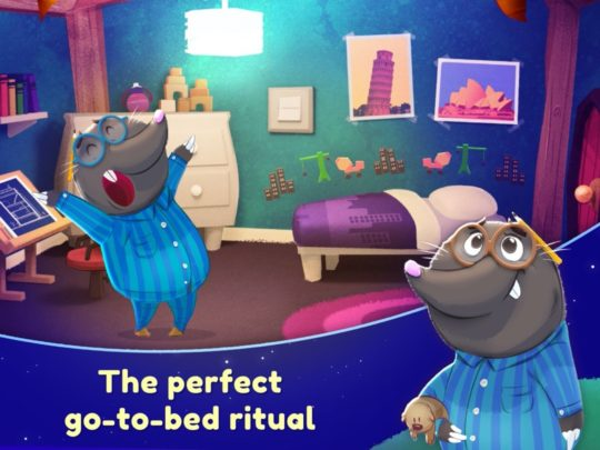 Nighty Night Forest - iPad book reading apps for children