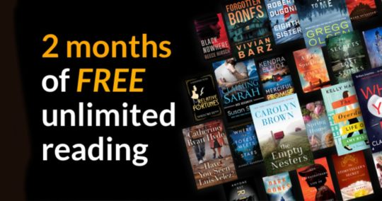 Reactivate Kindle Unlimited - get two months free