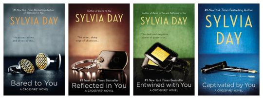 Sylvia Day Crossfire single-ebook exclusive bundle
