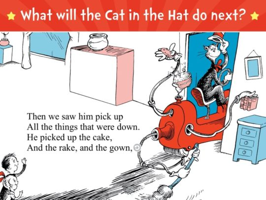The Cat in the Hat - best iPad books for children