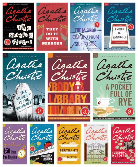 The Complete Agatha Christie Miss Marple Ebook Collection