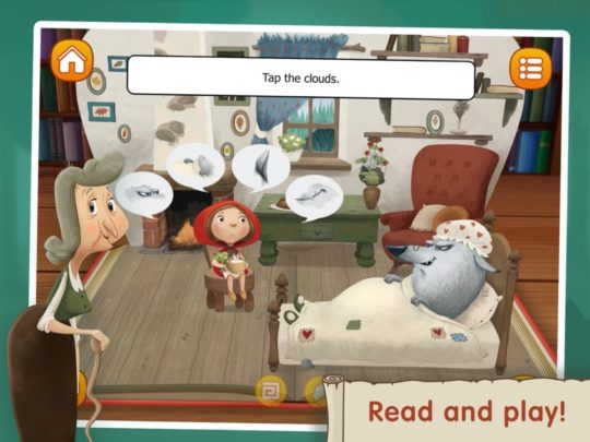 The Little Red Riding Hood - interactive iPad books for kids