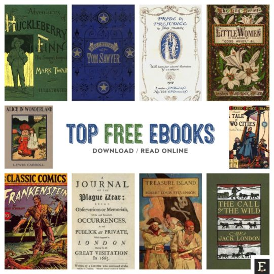 The most downloaded free ebooks