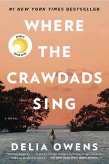 Where the Crawdads Sing by Delia Owens - Amazon print book bestsellers of 2020 so far