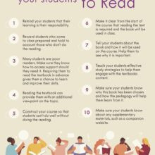 10 tips to motivate your students to read - full infographic