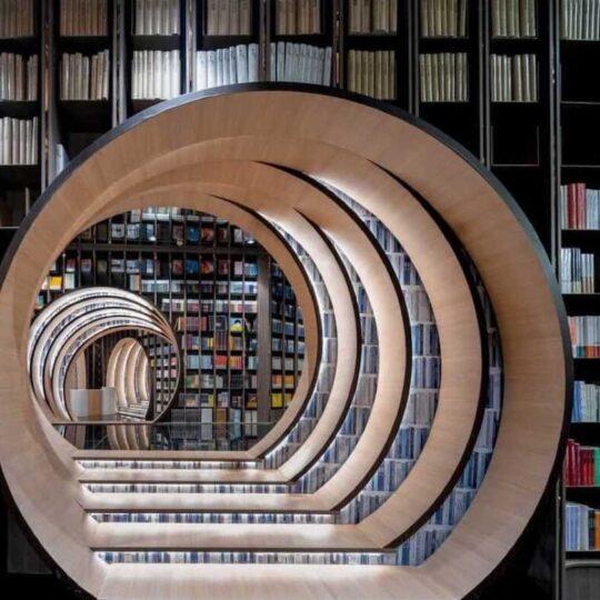 Beijing bookstore breath-taking classic Chinese gardens