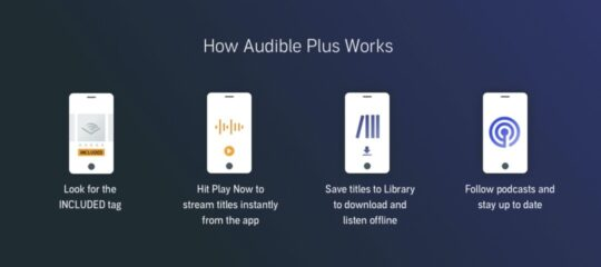 How Audible Plus works