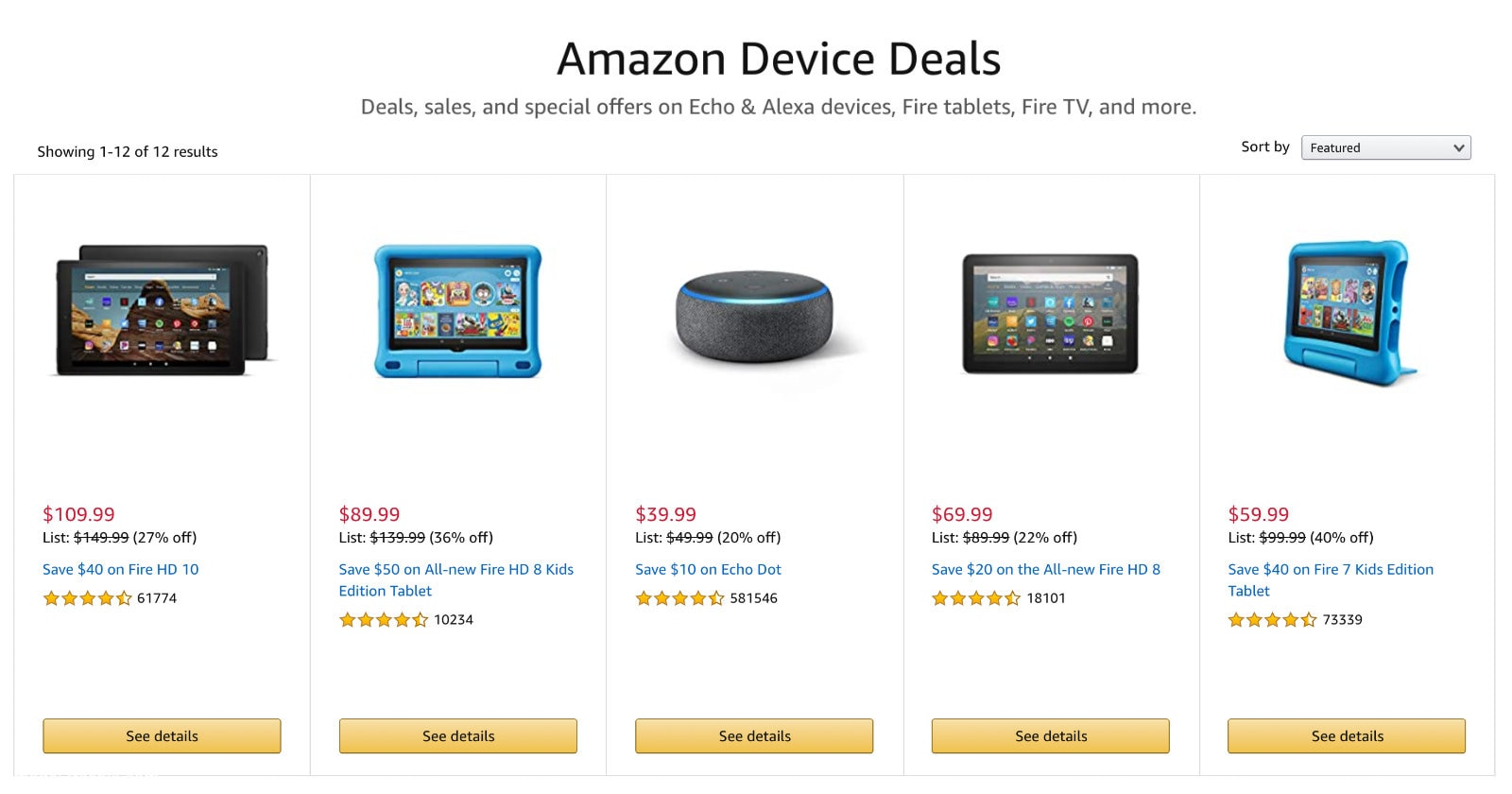 Amazon Fire sale early Prime Day 2020