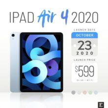 Apple iPad Air 4 2020 - specs facts