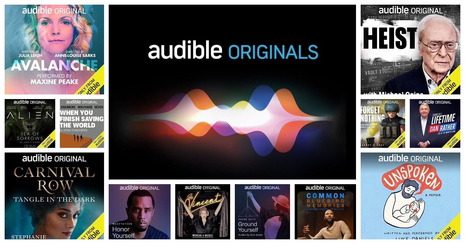 Are Audible Originals included in Amazon Prime?