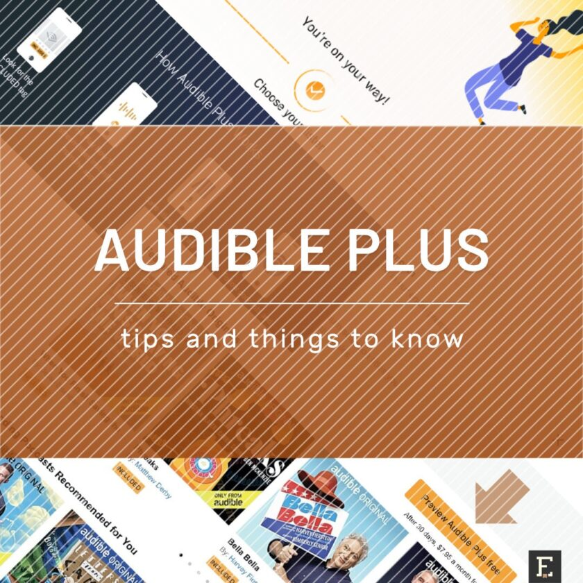 Audible Plus audiobook subscription things to know