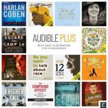 Best Audible Plus audiobooks
