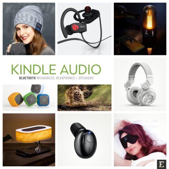 Best headphones speakers wearables for Kindle