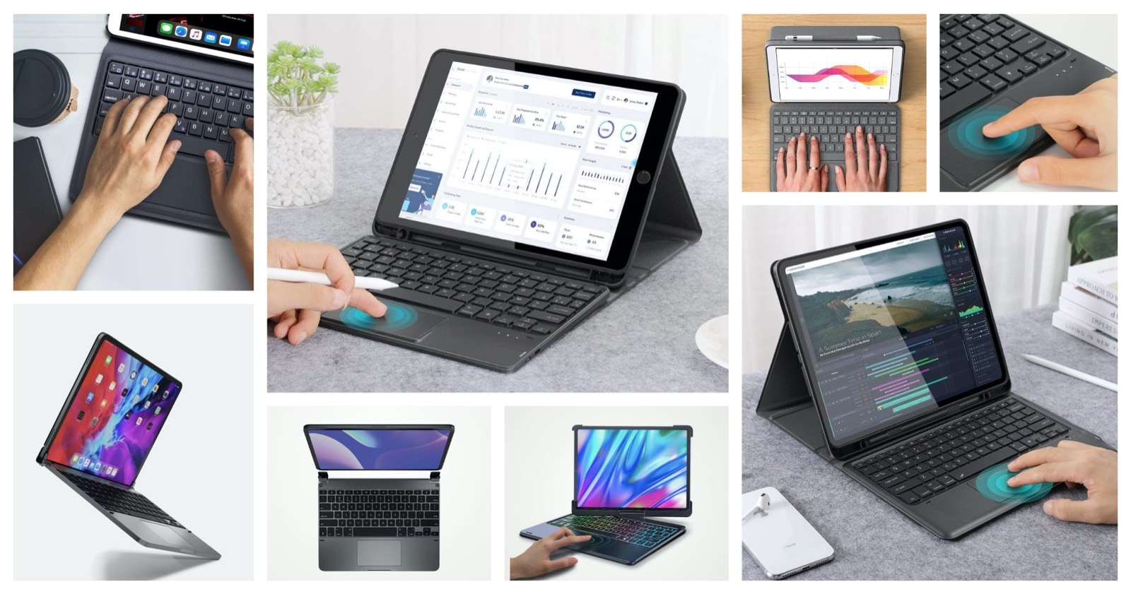 Best iPad keyboard cases with trackpad