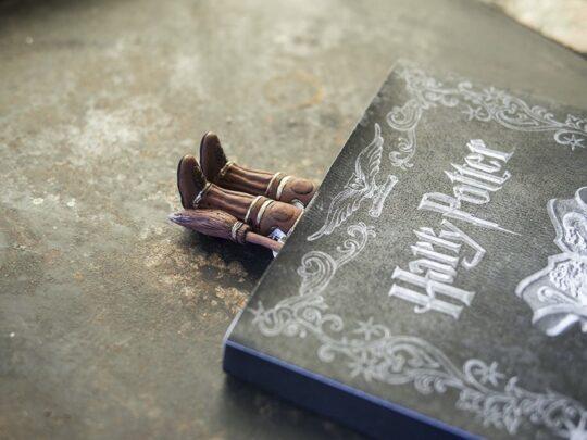 Bookmark in Quidditch uniform - best Harry Potter gifts