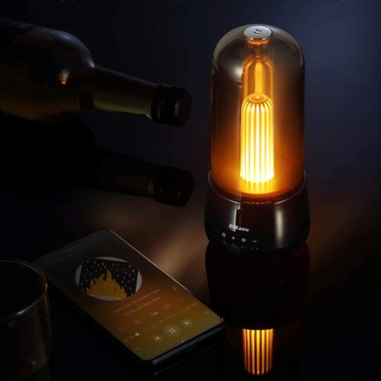 Night lamp with Bluetooth speaker – perfect for audiobooks