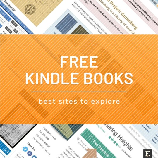Download Free Books For Kindle From These 9 Sites