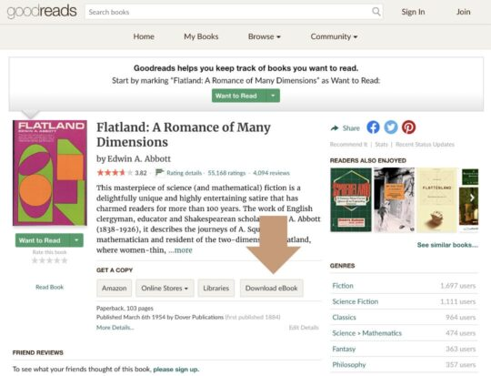 Download free ebooks for Kindle directly from Goodreads