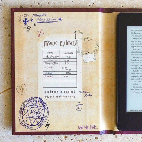 Harry Potter Kindle case - inside