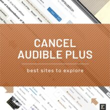 How to cancel Audible Plus membership