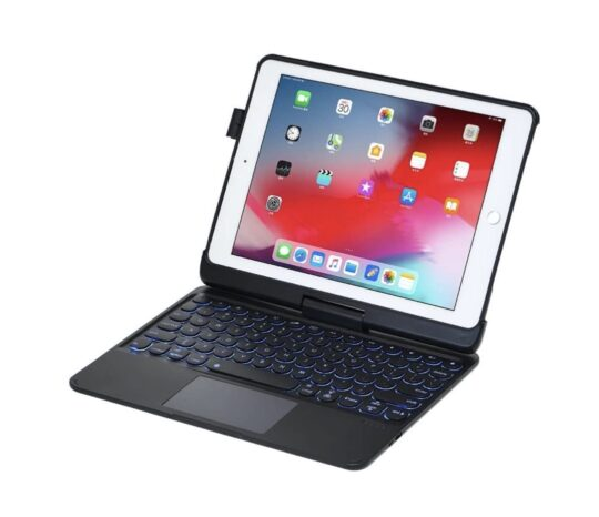 Keyboard case with trackpad for older iPad models