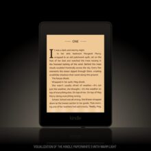 Kindle Paperwhite 5 warm light visualization