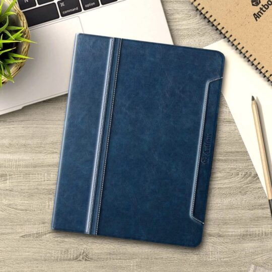 Navy Blue iPad 10.2 2020 innovative folio stand case