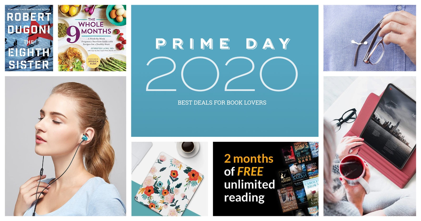 Prime Day 2020 - best Kindle book audiobook deals