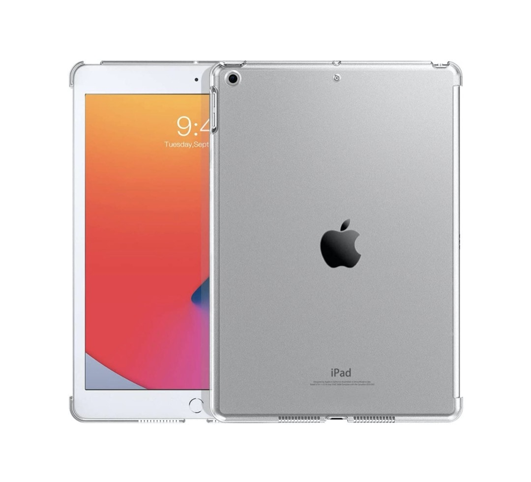 Transparent iPad 10.2 case Smart Cover Keyboard - compatible with 2021 and 2020 models
