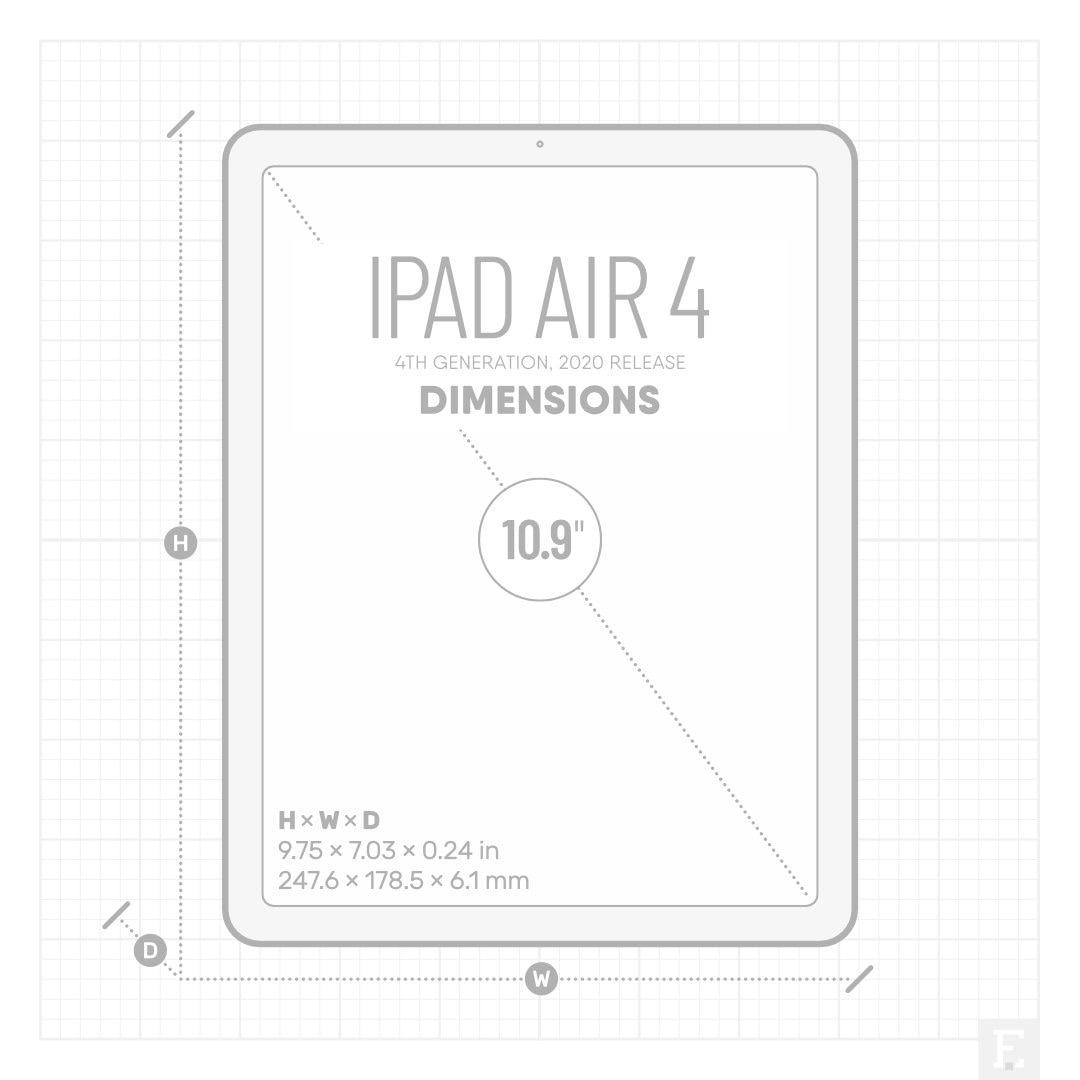 iPad Air 4 2020 dimensions
