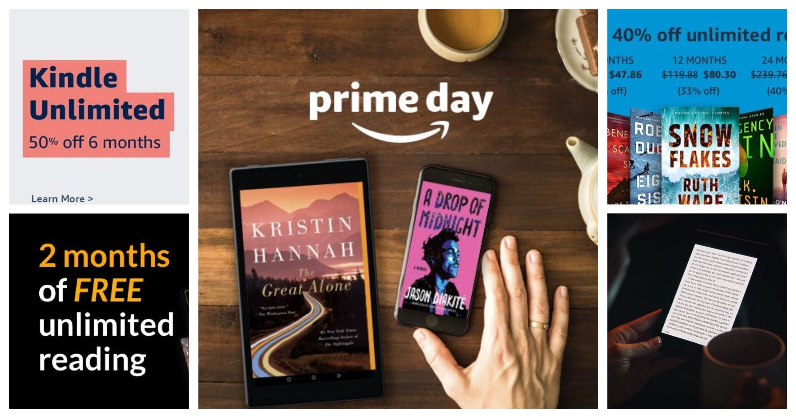 All Prime Day 2020 Kindle Unlimited deals