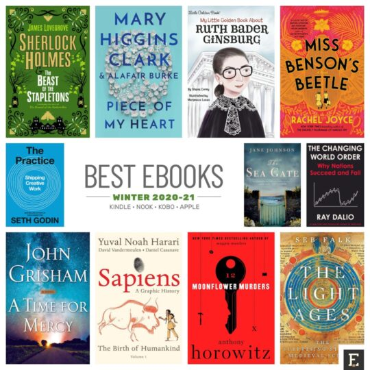Best ebooks winter 2020-21 iPad Kindle Kobo Nook