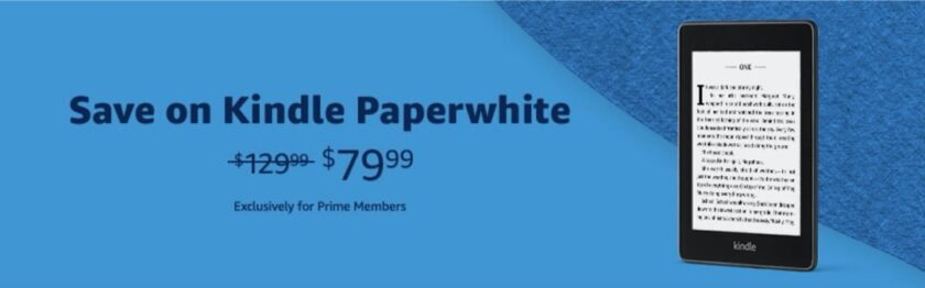 Prime Day 2020 - Kindle Paperwhite deal