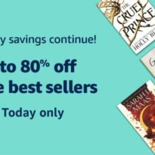 Prime Day deal for non-members: save huge on 160 Kindle bestsellers!