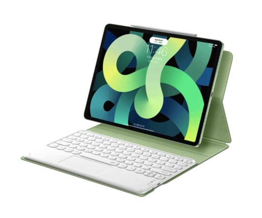 Apple iPad Air 4 keyboard case with trackpad