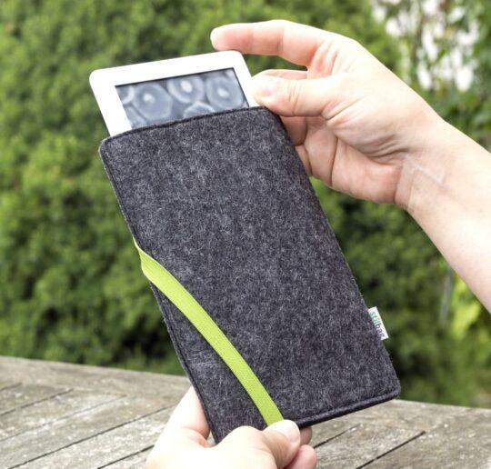 Biodegradable Kindle Paperwhite 4 felt sleeve