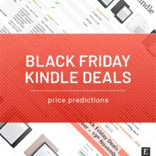 Black Friday 2020 Kindle price predictions